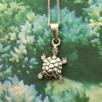 Small Turtle Pendant